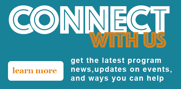 Connect with us - sign up to receive our e-newsletter